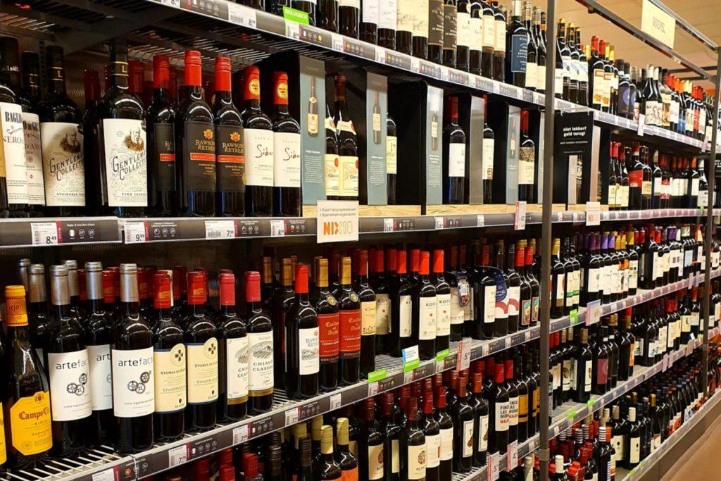 Wijnschap Albert Heijn