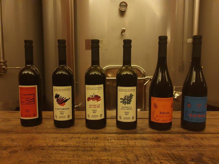 Wijnen Arpepe Valtellina