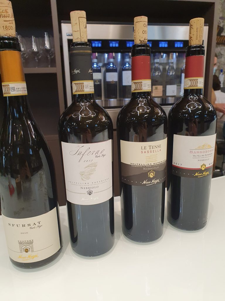 Wijnen Nino Negri Valtellina