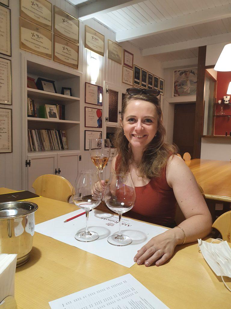 Wijn proeven Aldo Rainoldi Valtellina