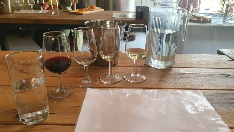 Wijnproeverij De Linie Glazen