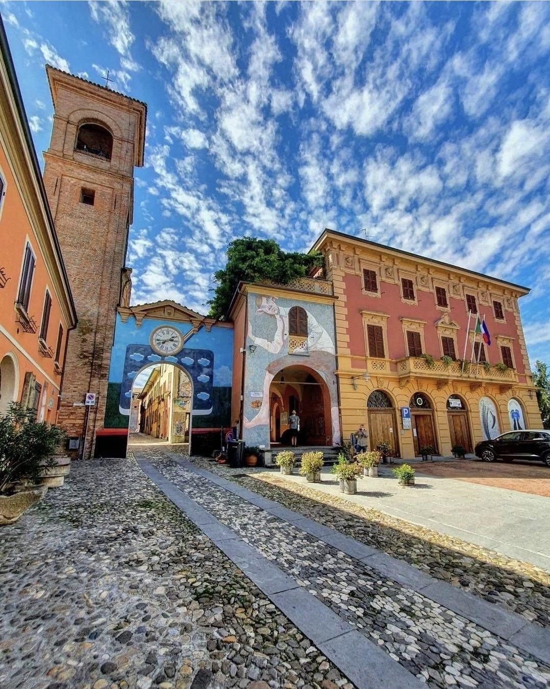 Dozza Emilia Romagna mooiste dorpjes van Italië