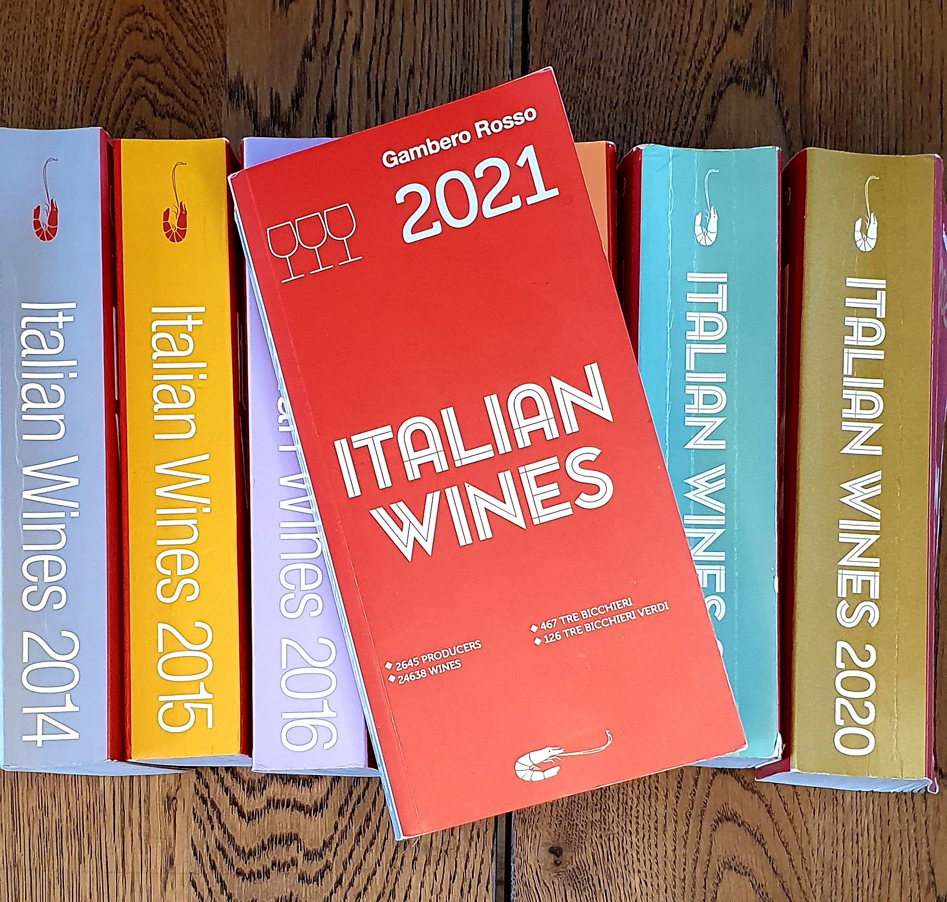 Italiaanse wijnboeken: mijn persoonlijke top 5