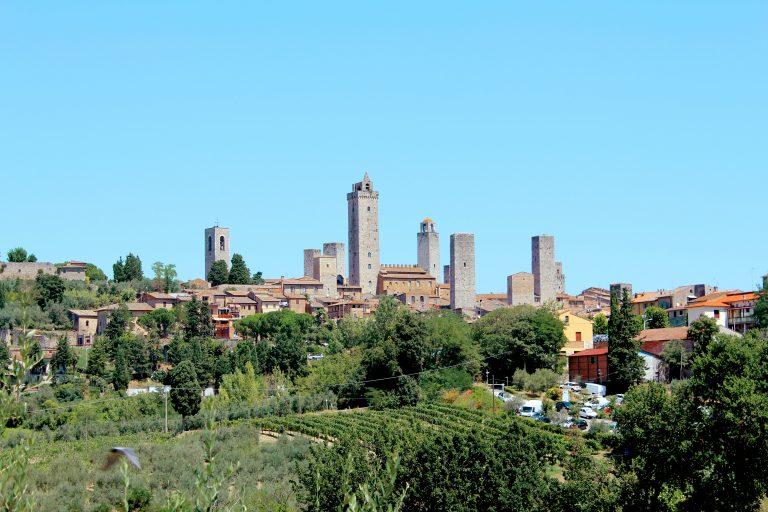 San Gimignano - Chianti route